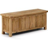 Aspen Storage Bench Brown