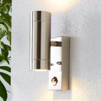 image-Billy PIR Sensor Chrome Outdoor Wall Light Light Copper