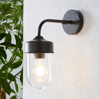 image-Colmar Black Outdoor Wall Light Coffee