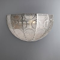 image-Manila Chrome Wall Light Silver