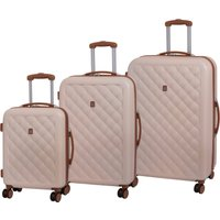 IT Luggage Fashionista Natural Hard Shell Suitcase Natural
