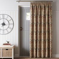 Lucetta Jewel Pencil Pleat Door Curtain Red, Blue and Green