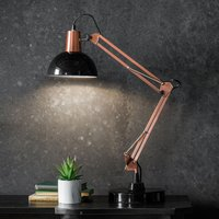 image-Gallery Direct Watson Task Desk Lamp Black and Bronze Black