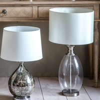 image-Gallery Direct Sulgrave Table Lamp Clear and White
