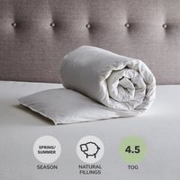 Fogarty Duck Down 4.5 Tog Duvet White