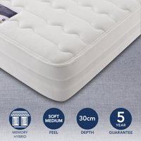 Silentnight Soft Medium 2000 Pocket Memory Mattress White