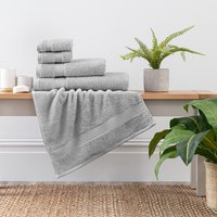 image-Silver Egyptian Cotton Towel Silver