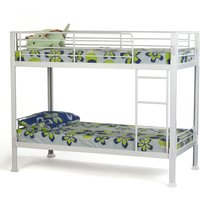 image-Desmond Metal Bunk Bed White