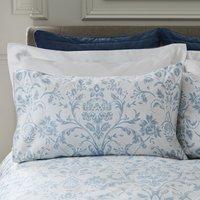 Dorma Remington Housewife Pillowcase Pair Blue