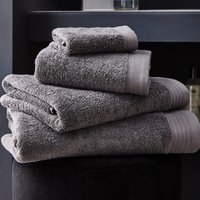 image-Hotel Pima Cotton Graphite Towel Grey