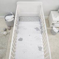 Tiny But Mighty 4 Tog Cot Quilt Grey