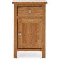 Bromley Oak Small Cabinet Light Oak (Brown)
