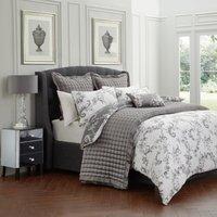 image-Dorma Ophelia Charcoal Bedspread Charcoal (Grey)