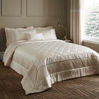 image-Bardot Cream Quilted Bedspread Cream