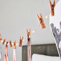 image-Photo Peg 16 Copper String Lights Copper