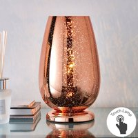 image-Ivy Copper Glass Table Lamp Copper