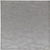 Set of 4 Grey Snake Print Effect Placemats Grey