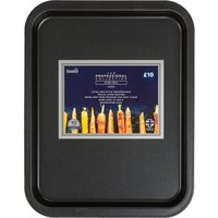 Dunelm Professional 41cm Oven Tray Black