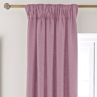 Vermont Pink Pencil Pleat Curtains Pink