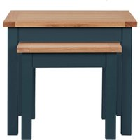 image-Bromley Blue Nest of Tables Blue