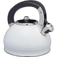 Lovello Textured White Stove Top Kettle White