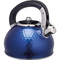 Lovello Textured Navy Stove Top Kettle Navy
