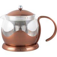 La Cafetiere 2 Cup Copper Teapot Copper