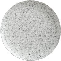 Maxwell and Williams Caviar Speckle Round Serving Platter White