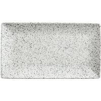Maxwell and Williams Caviar Speckle Rectangular Serving Platter White