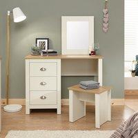 image-Lancaster Study Desk Cream