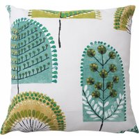 image-Nordic Trees Cushion Cover Green
