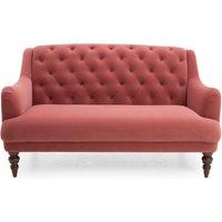 Natalia Velvet 2 Seater Sofa Pink