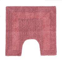 Super Soft Rose Pedestal Mat Pink