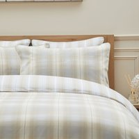 Dorma Buckden Housewife Pillowcase Pair Natural