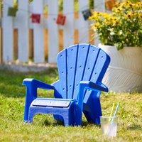 Kids Navy Fan Chair Navy
