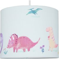 image-Dinosaurs Drum Light Shade Pink, Purple and Green