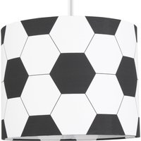 Football Drum Light Shade Black and White