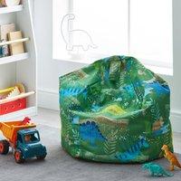 Roar Dinosaur Bean Bag Green and Blue