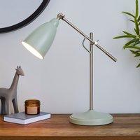 Robson Seafoam Lever Arm Task Desk Lamp Seafoam (Blue)