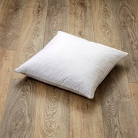 image-Goose Feather and Down Square Cushion Pad White