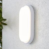 image-York Bulk Head White Outdoor Wall Light White