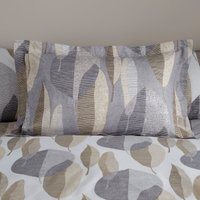 Elements Enya Oxford Pillowcase White and Natural