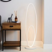 image-Menton Dimmable Integrated LED White Floor Lamp White