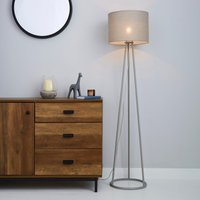 Sara Grey Floor Lamp Grey