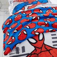 image-Disney Marvel Spider-Man Fleece Blanket Red, Blue and White