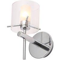 image-Spa Gene Bathroom Wall Light Chrome