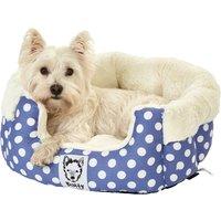 Bunty Blue Deep Dream Dog Bed Blue