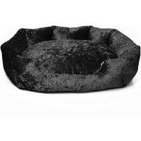 Bunty Black Bellagio Dog Bed Black