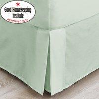 Non Iron Plain Dye Green Valance Green