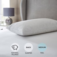 Hotel Duck Down Kingsize Pillow White